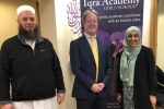 Paul Bristow at Iqra Academy