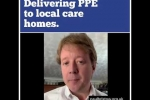 Embedded thumbnail for WATCH: Getting vital PPE our to care homes